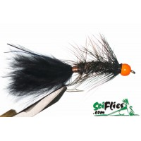 Mosca Streamers Wooly Bugger  Black Peacock
