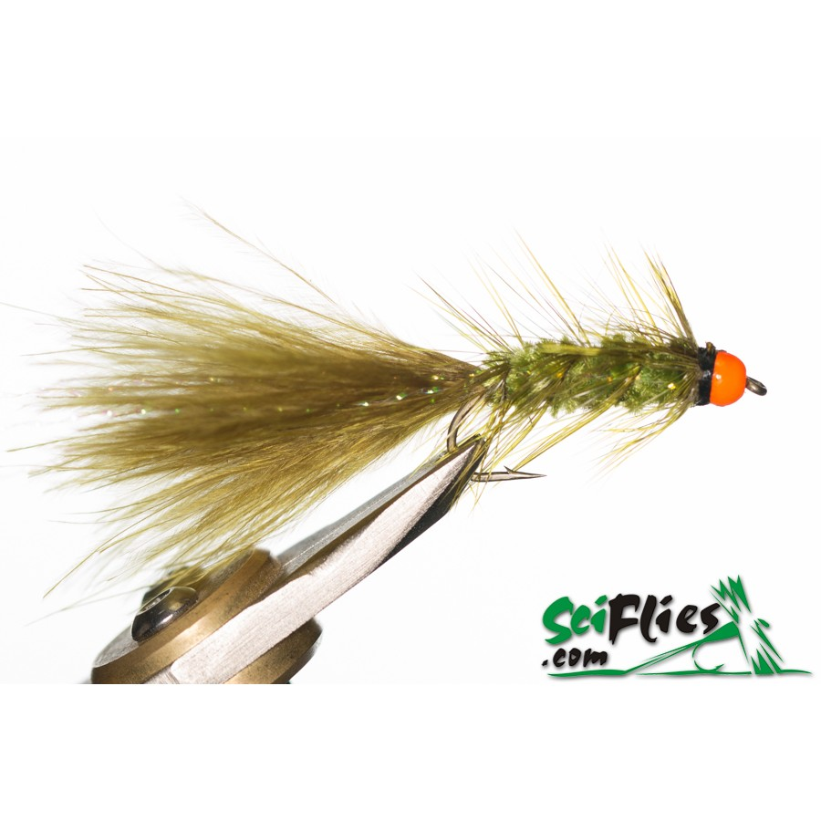 Mosca Streamers Wooly Bugger Olive